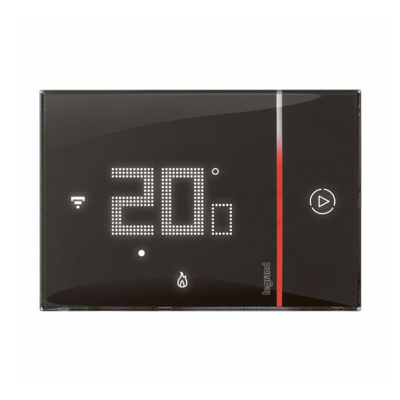 smarther 2 Legrand termostat 49039 cierny